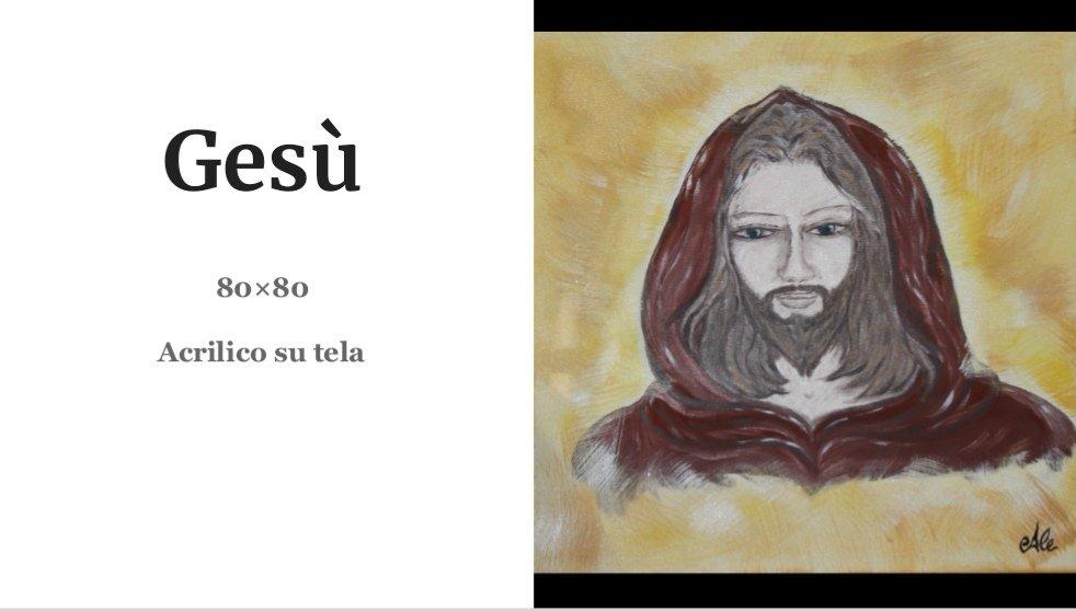 Quadri Alessia Mereu - Gesù