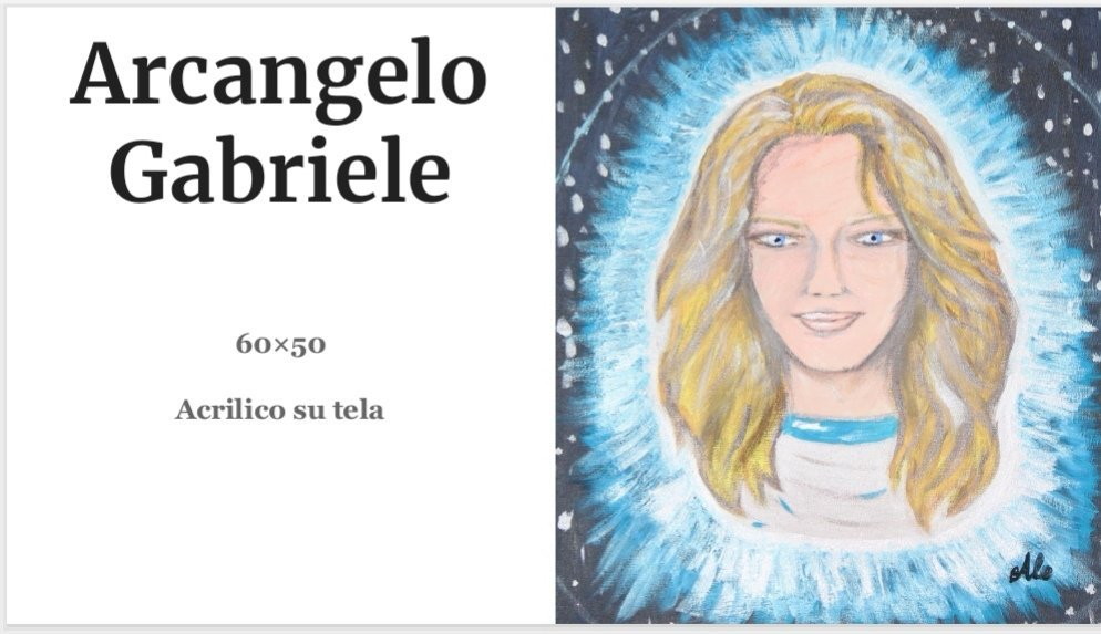 Quadri Alessia Mereu - Arcangelo Gabriele